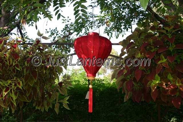 Lanterns in Garden