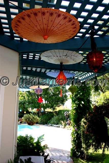 Lantern in Garden