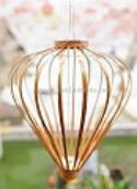 Bamboo Asian Lanterns - Vietnamese Bamboo Silk Lanterns