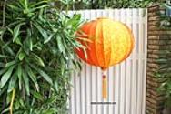 Prosperity Asian Lanterns - Vietnamese Prosperity Silk Lanterns