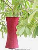 Burgundy Asian Lanterns - Vietnamese Burgundy Silk Lanterns