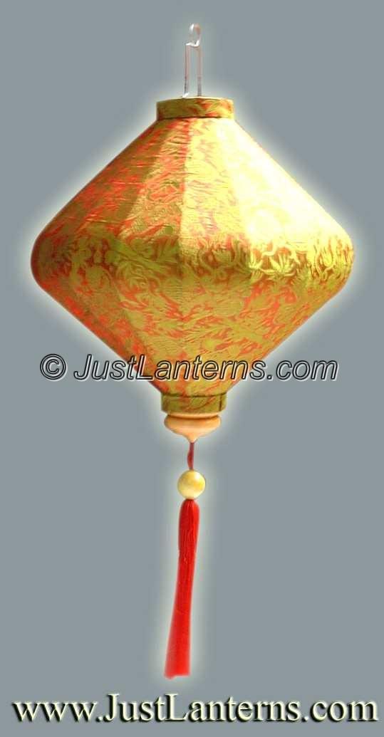 Vietnamese Lanterns Hand Painted