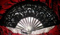 Lady Battenburg Lace Fans