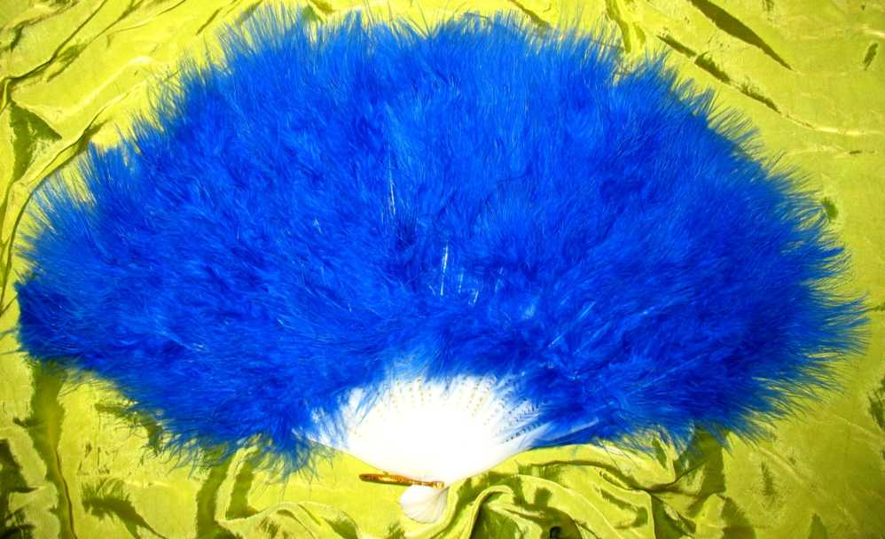 Deep Blue Fan