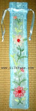 Silk Pouches for Fans