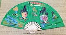 Vietnamese Silk Hand Fans, Vietnamese Silk Fans