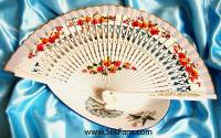 Spanish Hand Fans, Spanish Style Hand Painted Fans, Spanish Fans
