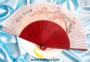 Flower Silk Hand Painted Fans