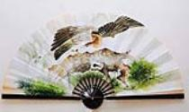 Asian Wall Fans, Asian Wall Fan, Vietnamese/Asian Hand Painted Wall Fans