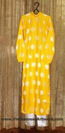 Ao Dai, Vietnamese Traditional Outfits, Vietnamese Silk Ao Dai Dresses for Children