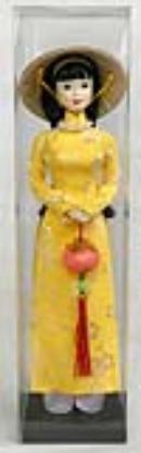 Vietnamese Dolls-Oriental Art Work-Vietnamese Art-
