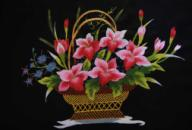 Flower Paintings-Vietnamese Folk Art