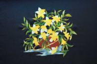 Flower Paintings-Vietnamese Folk Art