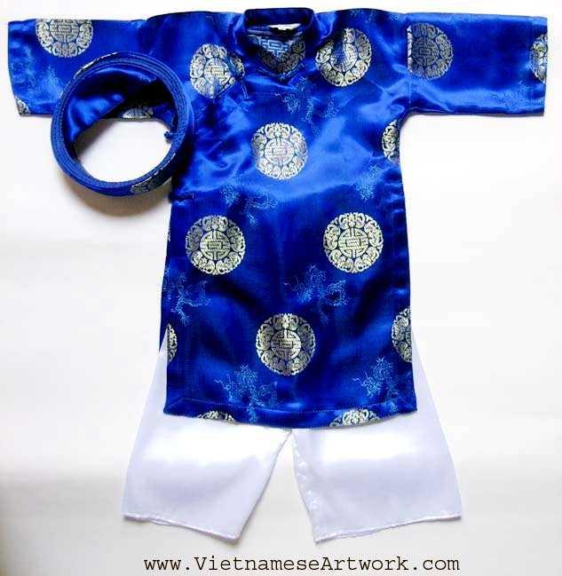 Blue Ao Dai