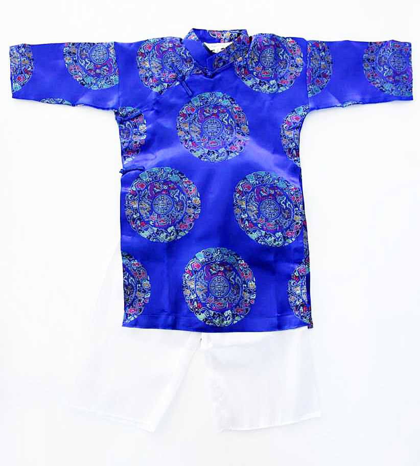 Blue Aodai/Size#4