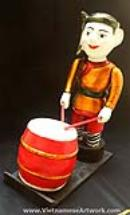 Vietnamese Water Puppets-Traditional Folk Art-Water Puppet Art-Beautiful Vietnamese Water Puppets