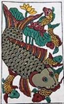 Dong Ho Paintings-Dzo Painting-Vietnamese Folk Art