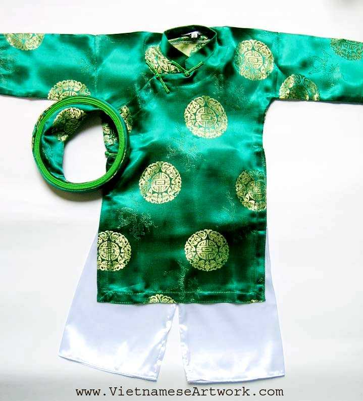 Green Aodai/Size#4