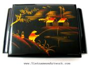 Hand Made Vietnamese Jewelry Boxes/Mother of pearl inlaid