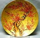 Vietnamese artwork/Lacquer paintings on Plates