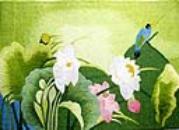 Vietnamese Embroidery Art-Oriental Cross Stitch-Asian Needlework-Vietnam Cross Stitch