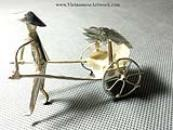 Silver plated Figurines