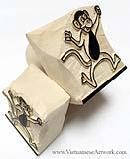 Vietnamese Hand Made Wooden Art Stamps