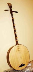 Vietnamese Traditional Musical Instruments-Vietnamese Art-Oriental Musical Instruments-Asian Art