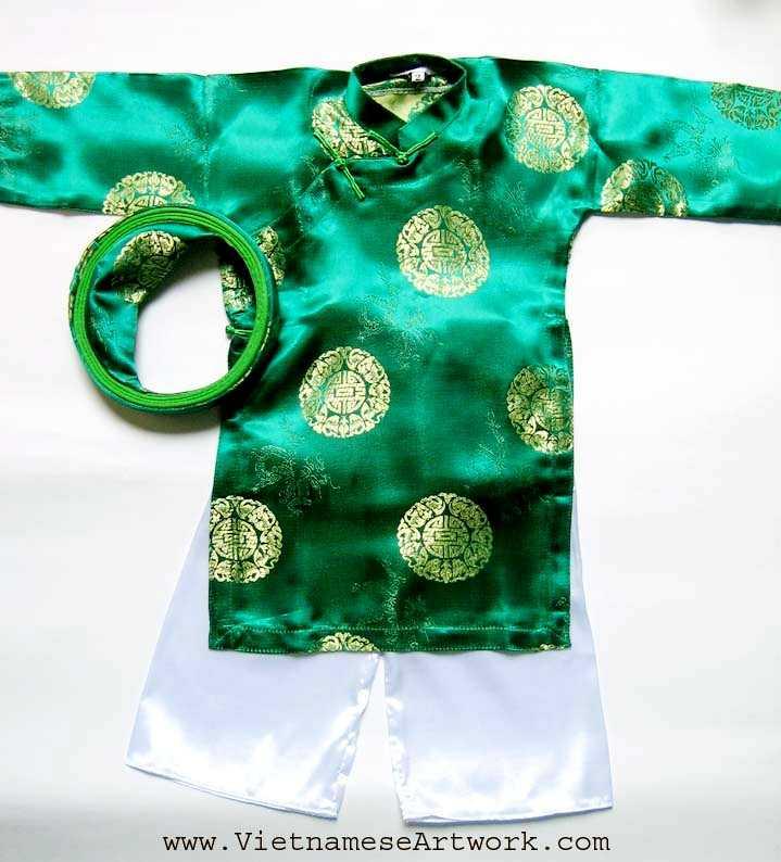 Green Aodai/Size#2
