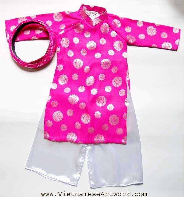Pink Aodai/Size#5