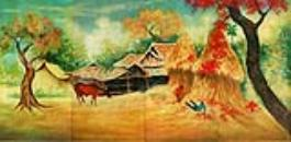 Vietnamese Lacquer Paintings Art-Vietnam lacquer-Oriental, Asian Lacquer