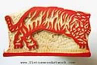 Vietnamese Hand Made Wooden Art Stamps