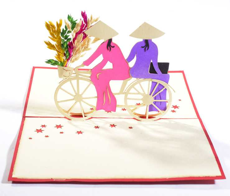 Vietnamese women you can find pop up origami cards in many countries this is our newest collection of pop up greeting cards made in vietnam m4hsunfo