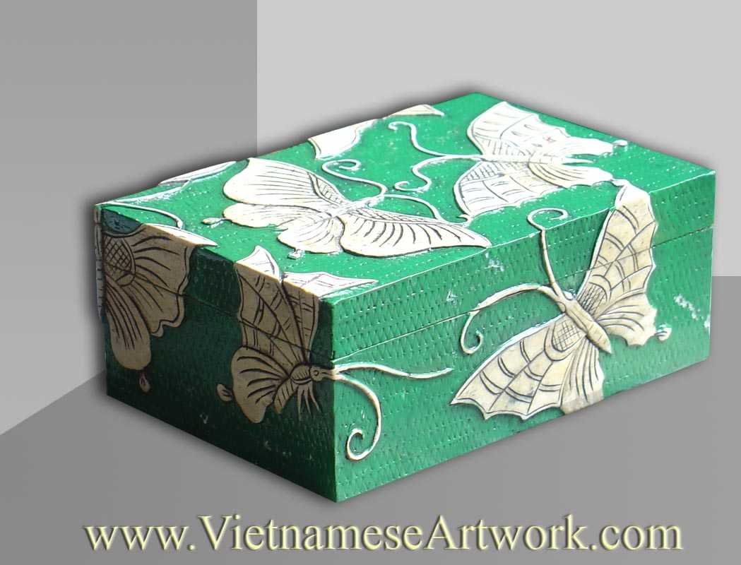 Green Butterfly Box