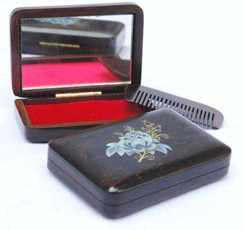 Rose Mirror Box