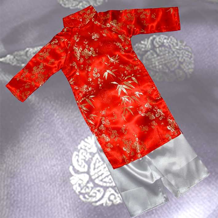 Red Aodai/Bamboo Size #4