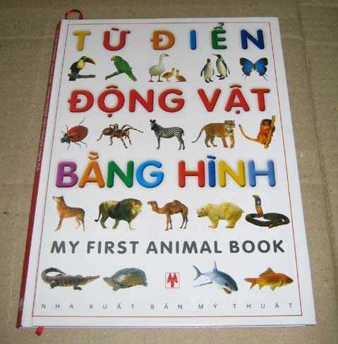 My First Animal Book Picture Dictionary