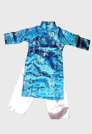 Turquoise Aodai