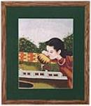 Embroidery Paintings with Frames/Hand Made Frames in US