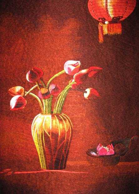Red Lantern and Lotus