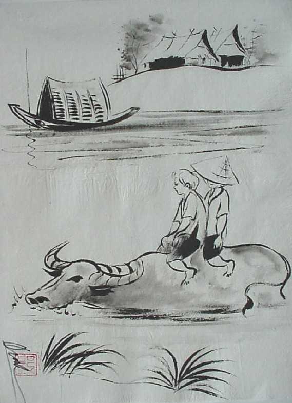 Riding Buffalo